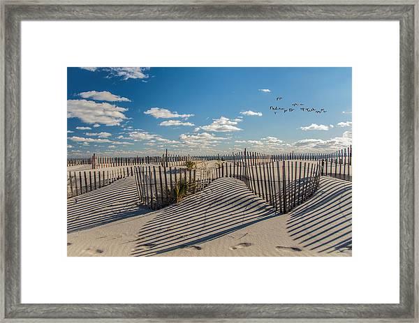 Winter Beach 9528 Framed Print