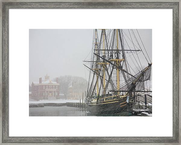Winter Berth Framed Print