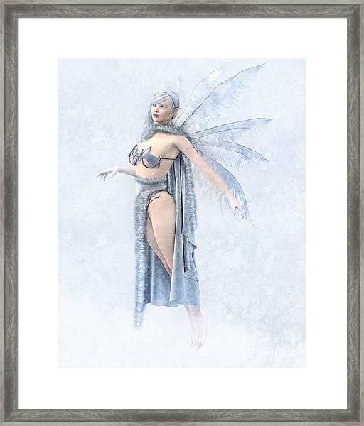 Winter Fairy Framed Print