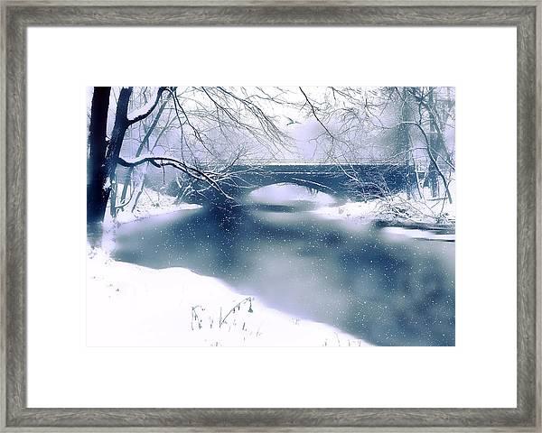 Winter Haiku Framed Print