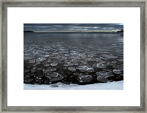 Winter In Sibley Framed Print