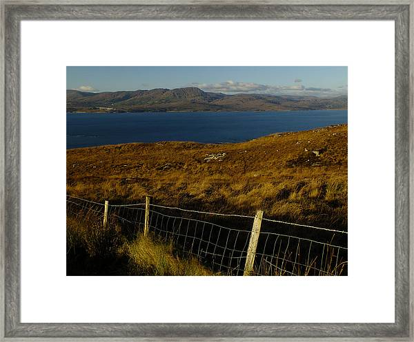 Winter On Bantry Bay Framed Print by Phil Darby