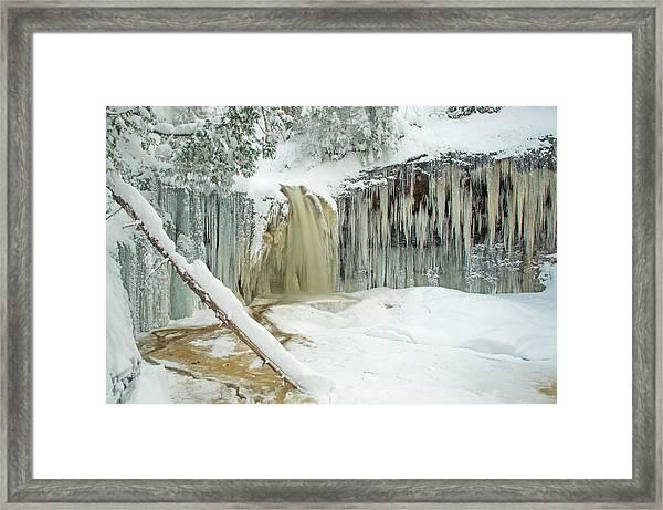 Winter On Carpenter Creek Framed Print