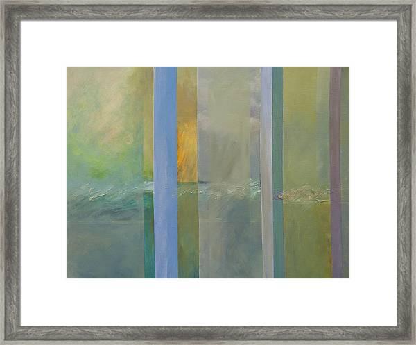 Winter Sea Framed Print