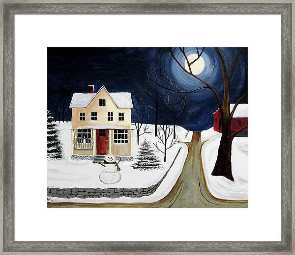 Winter Solo Framed Print by Kori Vincent