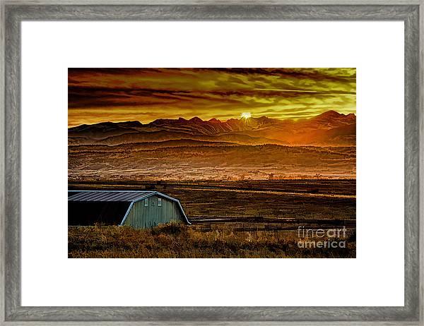 Winter Solstice Framed Print