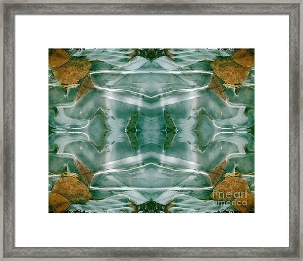 Winter Symmetry Framed Print