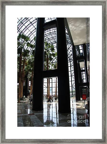 Wintergarden Framed Print
