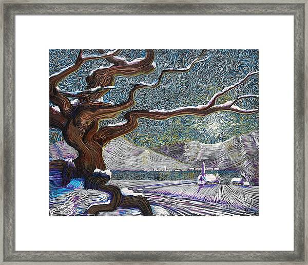 Winter's Day Framed Print