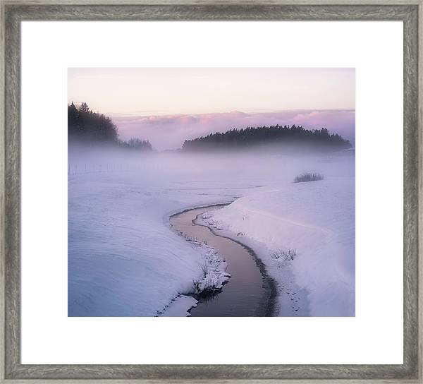 Winters Mystique Framed Print