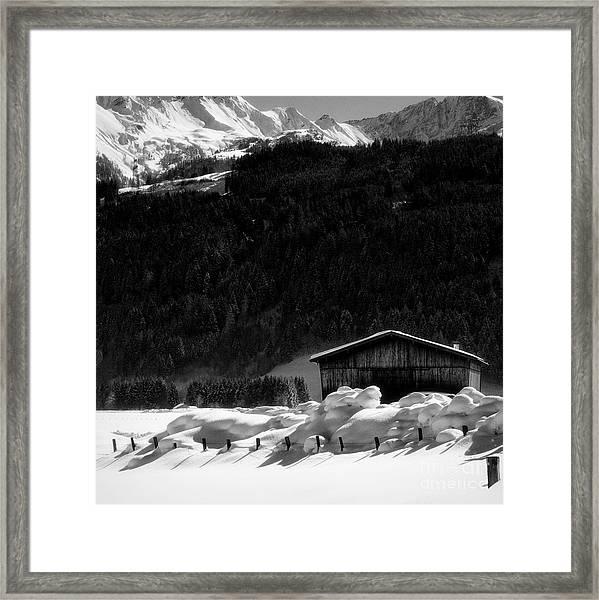 Wintertime Framed Print