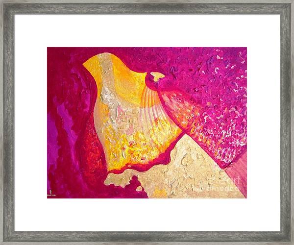 Wisdom And Love Framed Print