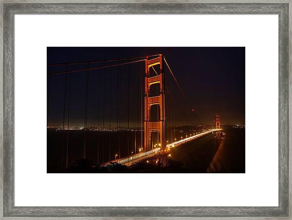 Wish You Were Here Framed Print