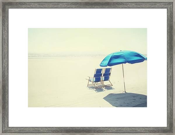 Wishing You Were Here Framed Print