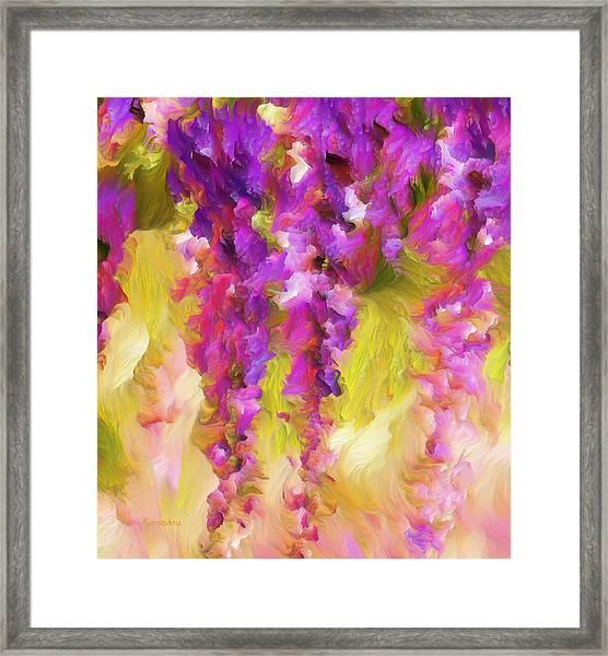 Wisteria Dreams Framed Print