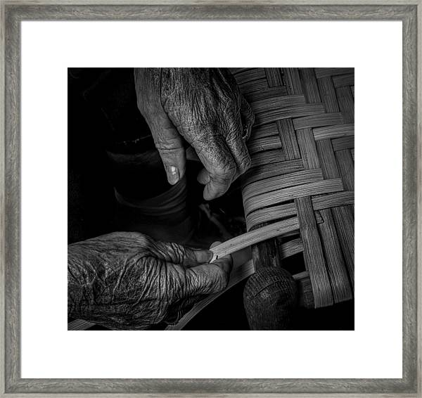 With These Hands Framed Print
