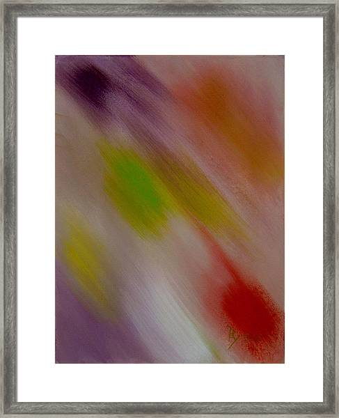 Within The Rainbow Framed Print