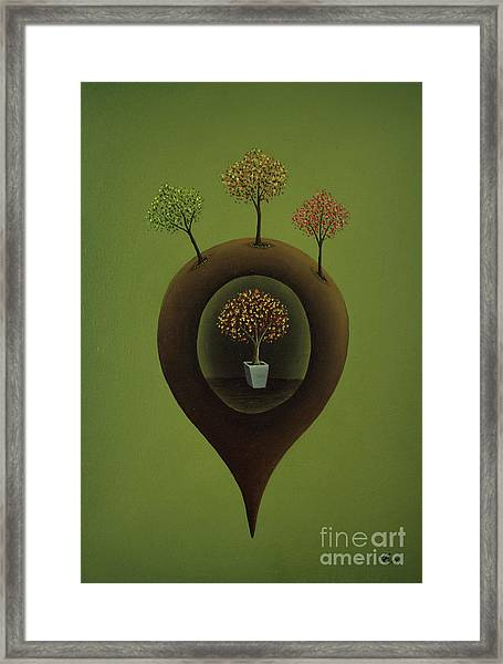 Within Framed Print by Thomas Maes
