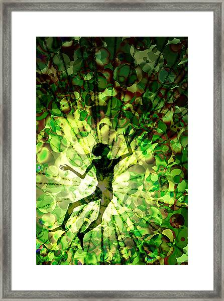 Within Without You Framed Print