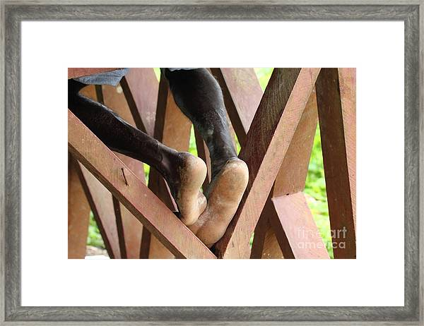 Without Title Framed Print
