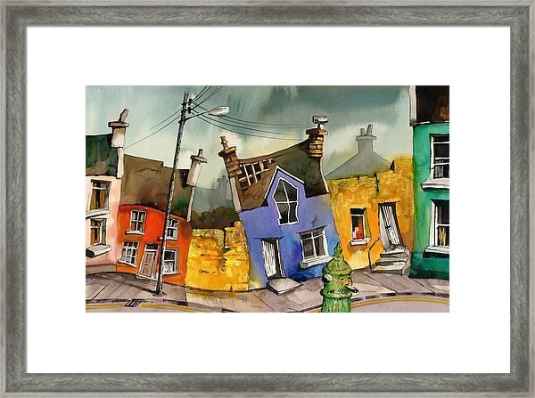 Wobbly Ardgroom In Glorious Technicolour Framed Print