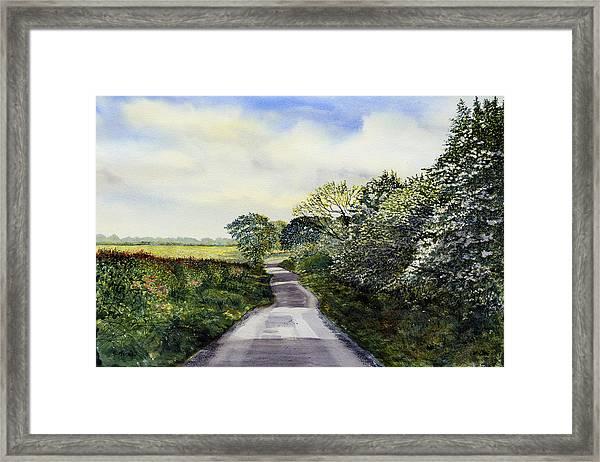 Woldgate - Late Spring Framed Print