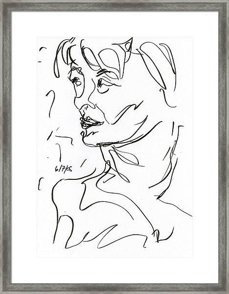 Woman Framed Print