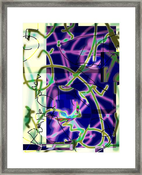 Won Chaos To Order 2013 Framed Print