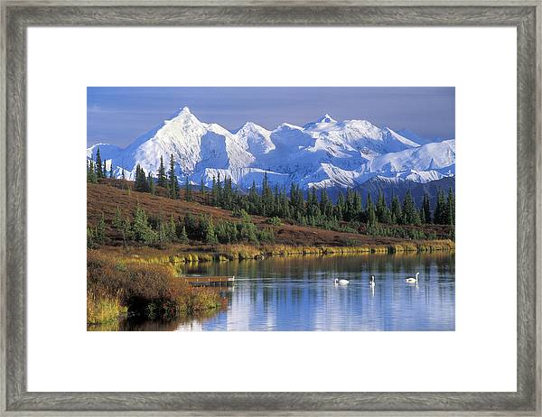 Wonder Lake 2 Framed Print