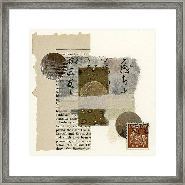 Wondered At Framed Print