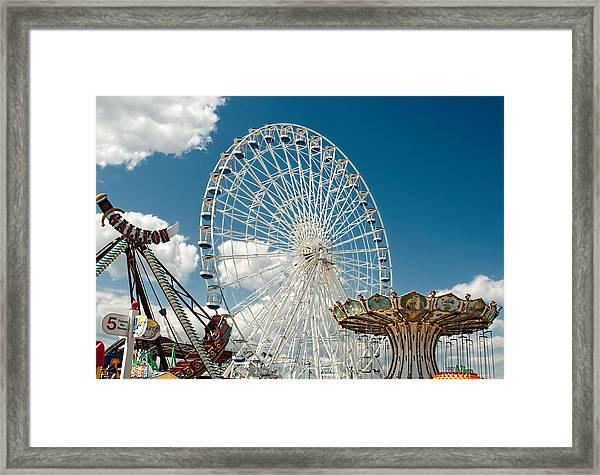Wonderland Fun Framed Print