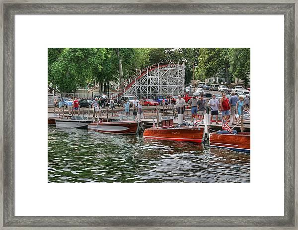 Wooden Boat Show Framed Print