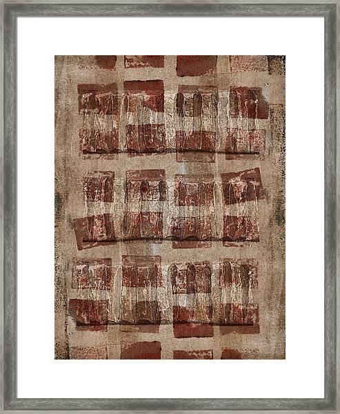 Wooden Paper Framed Print
