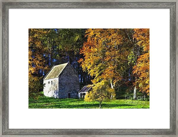 Woodhouses Bastle Northumberland - Photo Art Framed Print