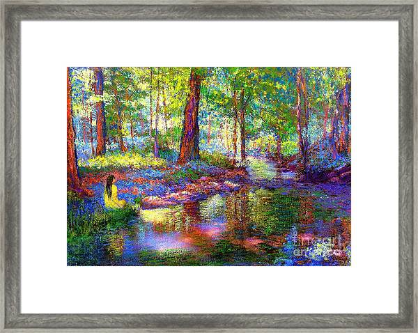 Woodland Rapture Framed Print