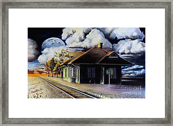 Woodstock Station Framed Print