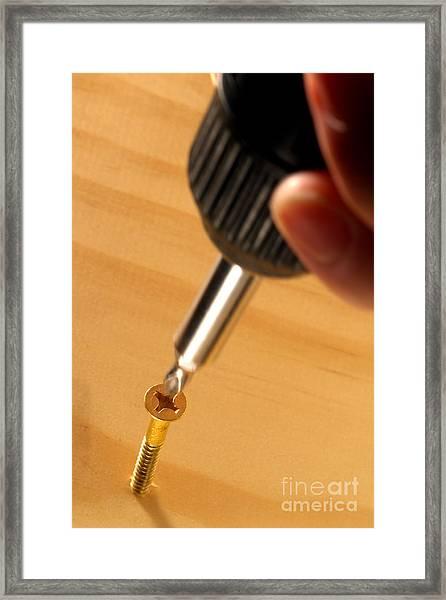 Woodworking  Framed Print