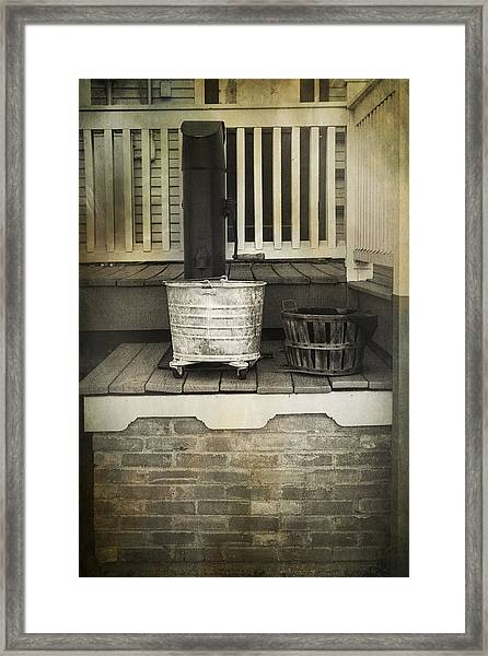 Work Is Done Framed Print