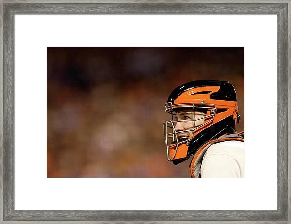World Series - Kansas City Royals V San Framed Print