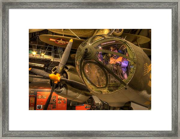 World War 2 Bomber Framed Print