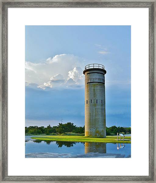 World War II Lookout Tower - Tower Road - Delaware State Park Framed Print