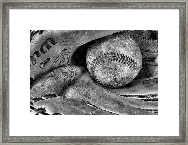 Worn In Bw Framed Print by JC Findley