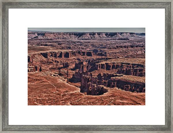 Wounded Earth Framed Print by Juan Carlos Diaz Parra