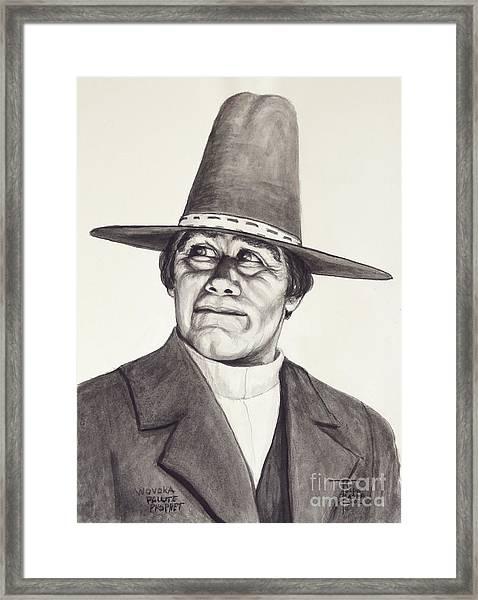 Wovoka - Paiute Prophet Framed Print