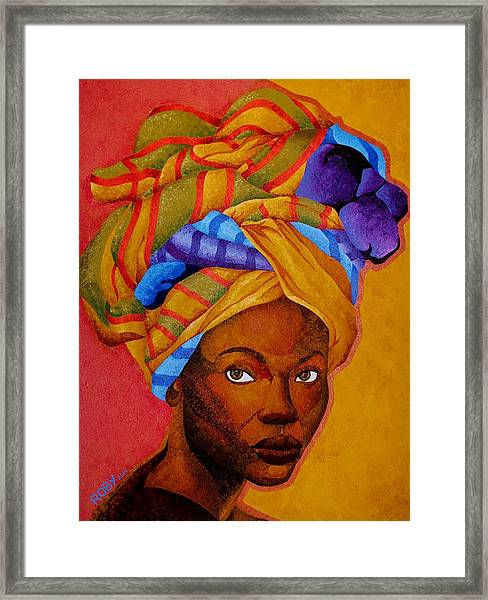 Wrapped Beautifully Framed Print