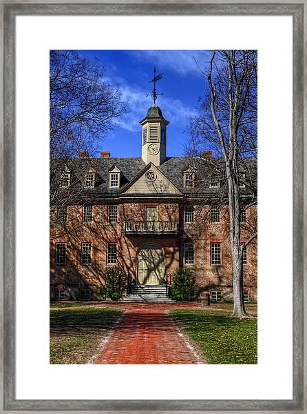 Wren Building Main Entrance Framed Print