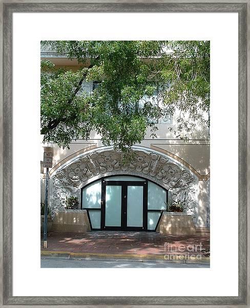 Wright Door Framed Print