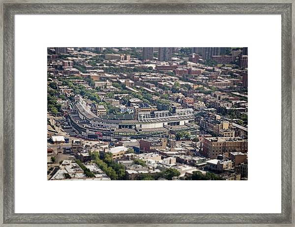 Wrigley Field - Home Of The Chicago Cubs Framed Print