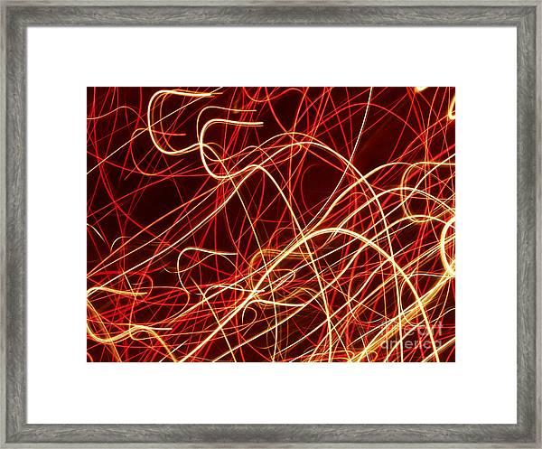 Write Light S Framed Print