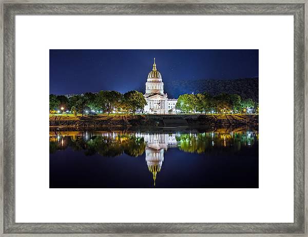 Wv Capitol Framed Print